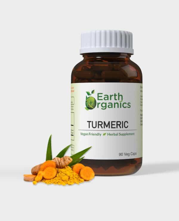 Earth Organics Turmeric Capsules