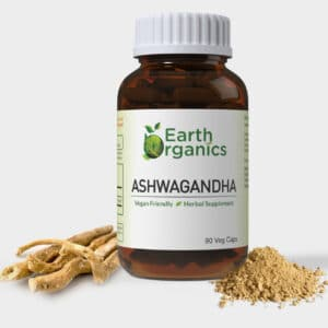 Earth Organics Ashwagandha Capsules