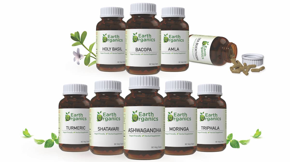 Earth Organics Herbal Capsules