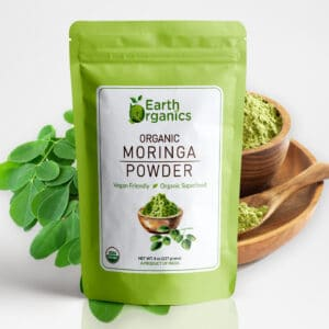Earth Organics Moringa Powder