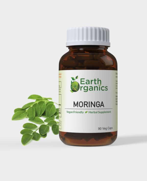 Earth Organics Moringa Capsules