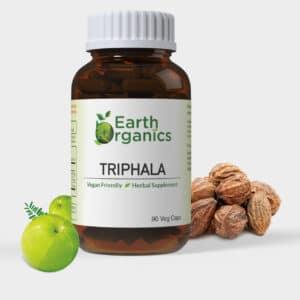 Earth Organics Triphala Capsules