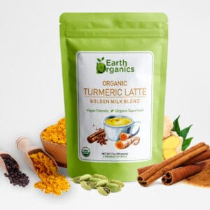 Earth Organics Turmeric Latte