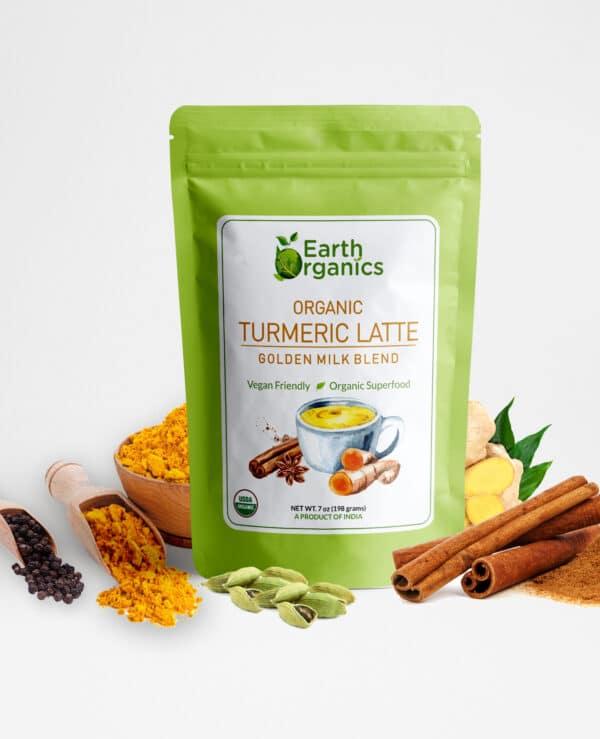 Earth Organics Turmeric Latte