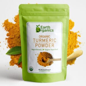 Earth Organics Turmeric Powder