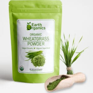 Earth Organics Wheatgrass Powder