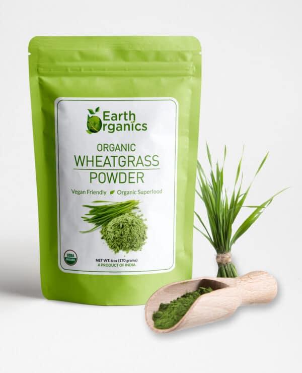 Earth Organics Wheatgrass Powder